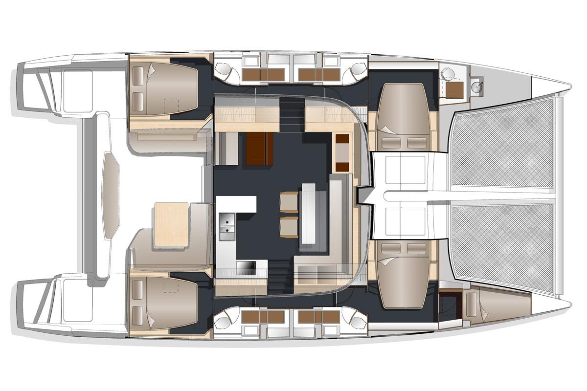 nautitech 541 542 darnet design. Black Bedroom Furniture Sets. Home Design Ideas